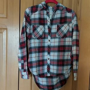 🎀Abercrombie and Fitch flannel shirt🎀